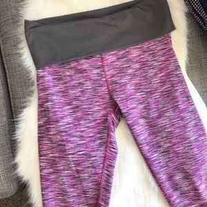 Fabletics Fold Over Crop Leggings